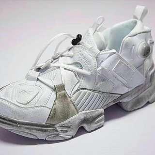 Vetements X Reebok Genetically Modified Pump Sneakers