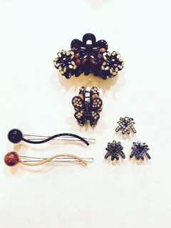 Set of 7 Hair Accessories