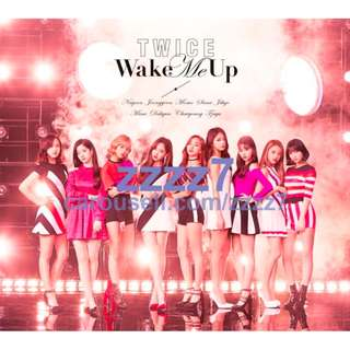 TWICE Wake Me Up CD+DVD JAPAN 3rd Single