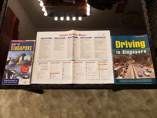 Singapore map and driving guide