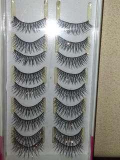 Glitter lashes #2