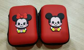 mini casing for earphone/charger