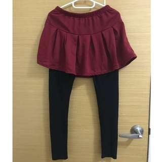 🚚 2件式褲裙