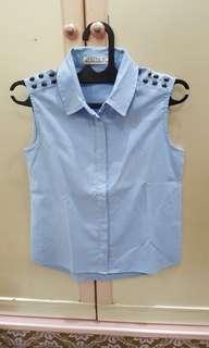 (Preloved) Kemeja Jeans Odiva