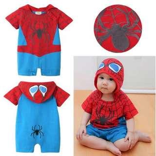 Baby Spiderman ROMPER