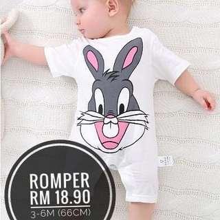 Romper cartoon bug bunny #20under