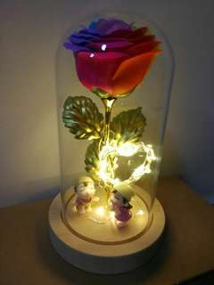 ROSE FLOWER WITH LED