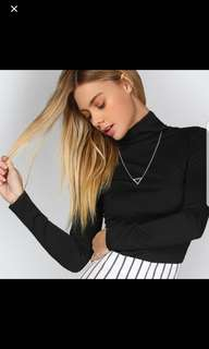 Black turtleneck