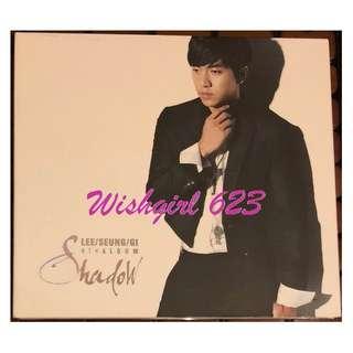 🚚 Lee Seung Gi 李昇基-『Shadow』第四張個人專輯CD (韓版)~燦爛的遺產、花遊記、野蠻公主玩婚記