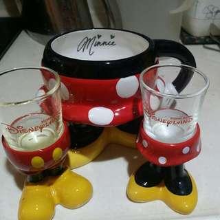迪士尼米奇杯3隻