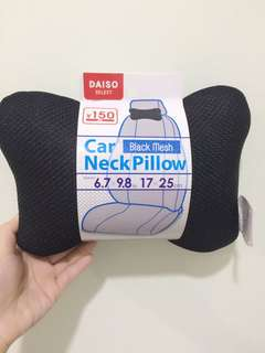 BLACK MESH CAR NECK PILLOW #20under