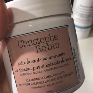❣️Christophe Robin, cleaning volumising paste