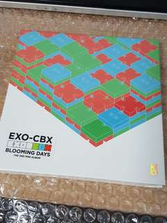 EXO CBX Blooming Days CD