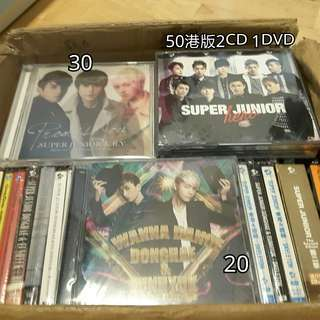 Super Junior SJ 專輯 碟