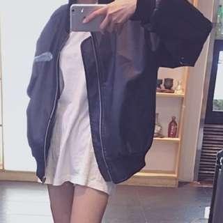 Korean Style Women's PU Leather Jacket