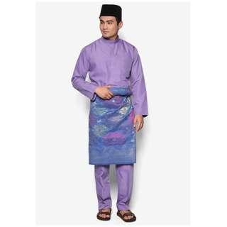 Baju Melayu Moden Amar Amran (Lavender Purple - AA1037BM)