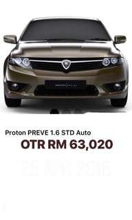 Proton Preve 1.6 STD Auto