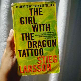 The Girl with the Dragon Tattoo by Sieg Larsson