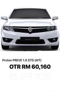 Proton Preve 1.6 STD MT