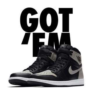 Air Jordan 1 Retro High OG Shadow