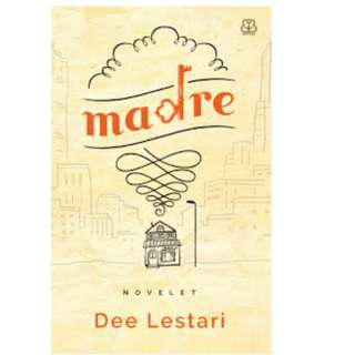Ebook Madre - Dee Lestari