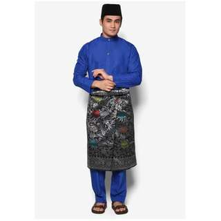 Baju Melayu Moden Amar Amran  (Royal Blue - AA1030BM)