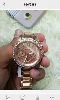Jam tangan ori fossil wanita