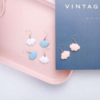 Clouds earring