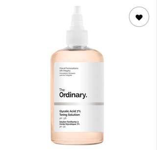 The Ordinary Glycolic Acid 7%