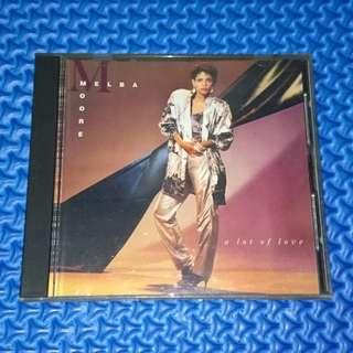 🆒 Melba Moore - A Lot Of Love [1986] Audio CD