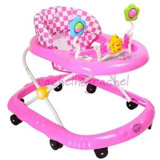 Brand New Pink Baby Walker Without Toys