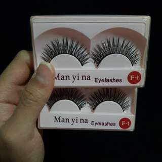 🚚 BNIB Man yi na Fake Eyelashes