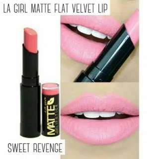 La Girl Matte Flat Velvet Lip