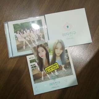 Gfriend Parallel 5TH Mini Album with Sowon UmJi Photocard