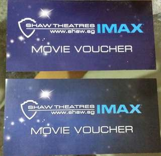 Shaw IMAX Movie Voucher