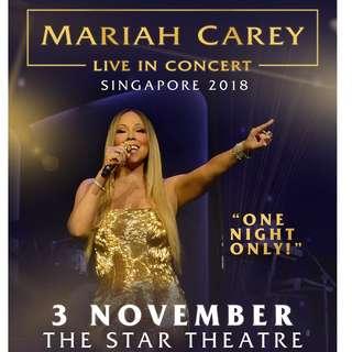 【CAT2】Mariah Carey <LIVE IN CONCERT>