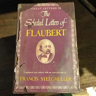 The Selected Letters of Flaubert - first printing 1953