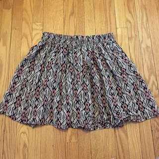 Brandy Melville tribal print skirt
