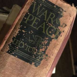 War and Peace - Leo Tolstoi The Inner Sanctum Edition