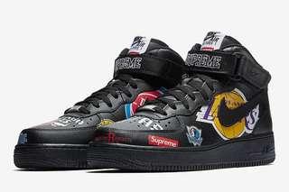Supreme x nba x Nike