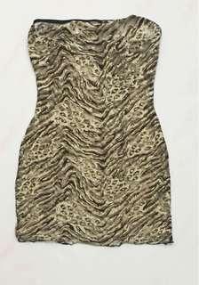 Leopard Print Night Wear Lingerie
