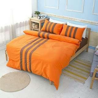 ▼超值搶購▼《歐培浪漫》活性印染雙人 / 雙人加大四件式床包被套組