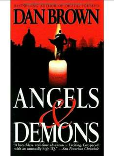 Dan Brown's Angels & Demons Book Novel
