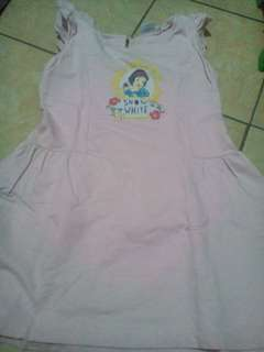 Dress anak disney