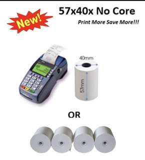 Coreless Nets / credit card thermal roll