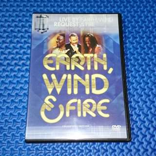 🆒 Earth, Wind And Fire - Live By Request (Collectors Edition) [2002] DVD