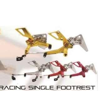 Rapido Single Footrest