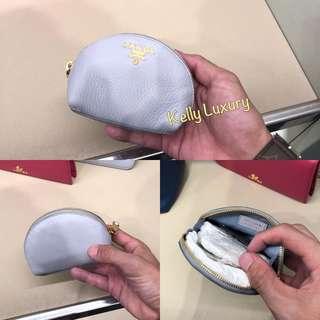 Prada coin pouch