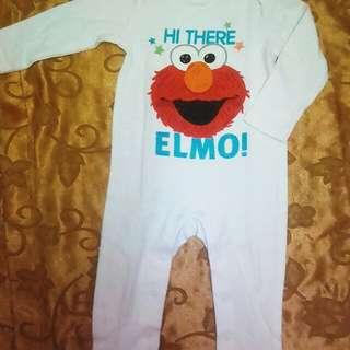 Elmo sesame street jumpsuit