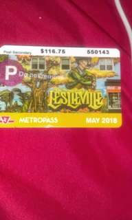 May metro card available for meet up ASAP